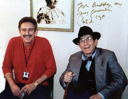 Buddy with Chet Atkins, C.G.P.