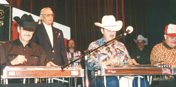 Buddy, Lynn Owsley and Johnny Cox